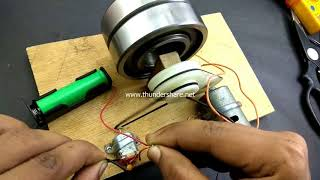 How to make 100% free energy generator without battery with the help of bearings | by innovation new