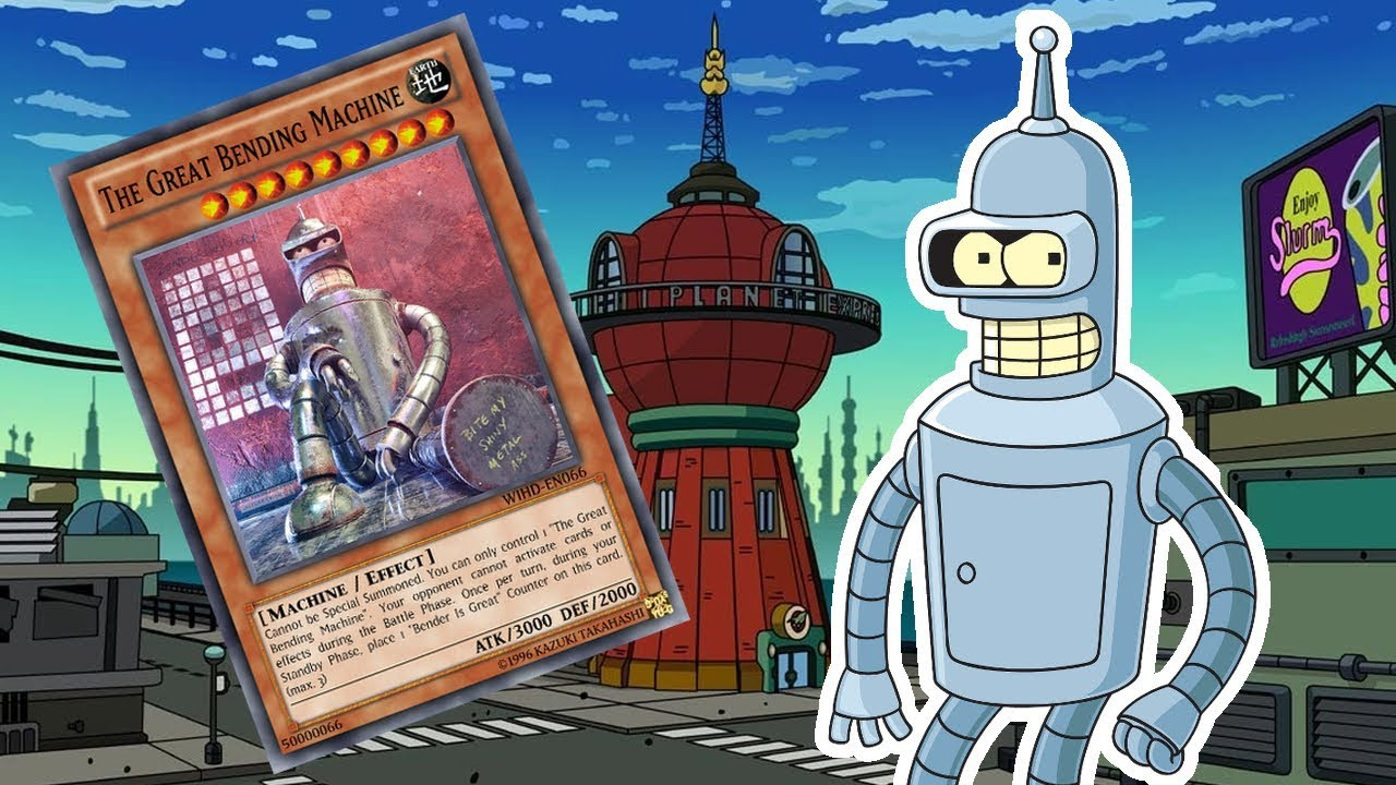 Download What if Bender had a Deck ?