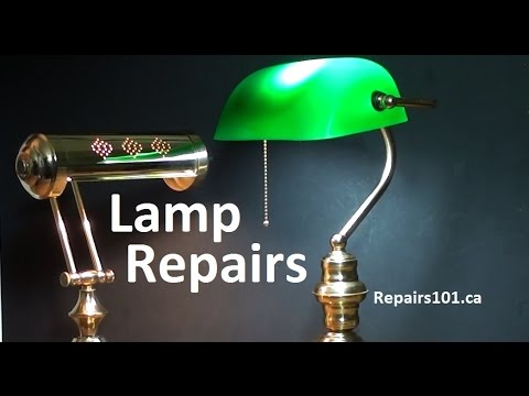 Lamp repairs how to rewire switch replacement underwriters lamp repairs how to rewire switch replacement underwriters knot youtube mozeypictures