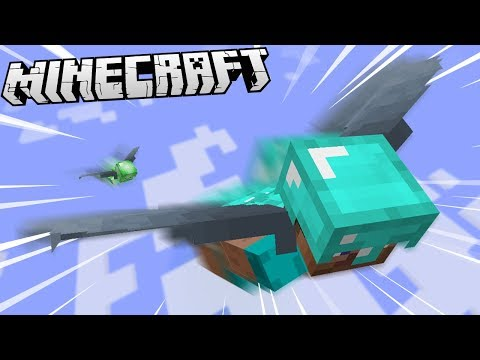 EXTREME FLYING CHALLENGE IN MINECRAFT!