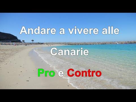 Andare a vivere alle Canarie: Pro e Contro