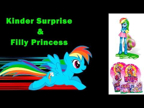 30 Киндер Сюрприз Май Литл Пони распаковка Kinder Surprise My Little Pony  Hobby Junior TV