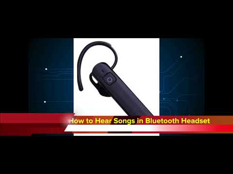 How can I listen to music via mono bluetooth | hear songs  in single bluetooth headset