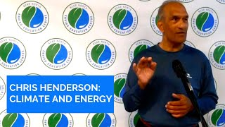 Chris Henderson - Climate Change and Energy