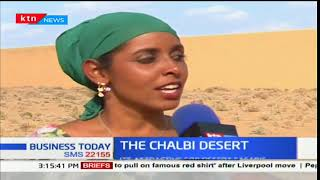 The Chalbi Desert:It's located in Marsabit and the only true Desert in E.Africa