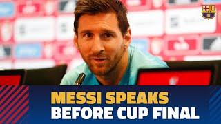 COPA DEL REY FINAL 2019 | Messi: