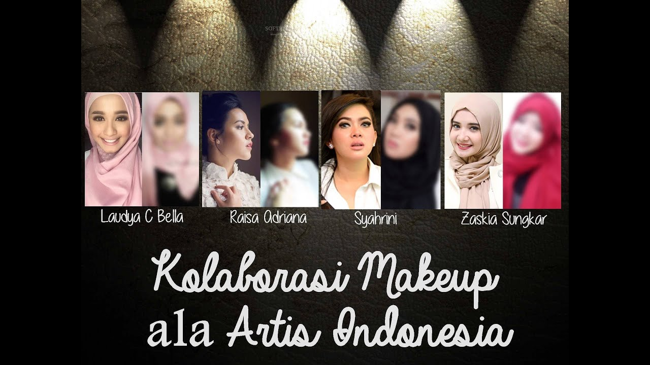Tutorial Makeup Ala Laudya C Bella YouTube