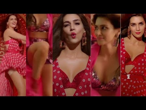 Kriti Sanon hot legs thighs boobs cleavage upskirt lips Coca Cola Luka Chuppi edit zoom slow motion thumbnail