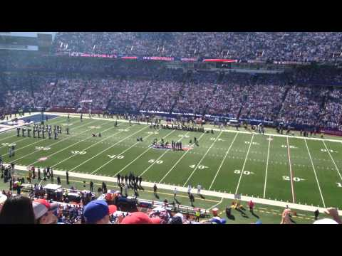 Pre-Game Ceremony for Buffalo Bills New Ownership