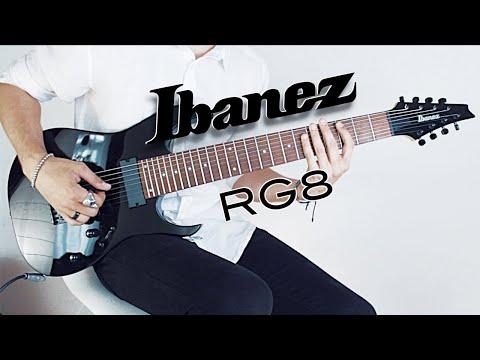 Ibanez RG8 || Tone Test
