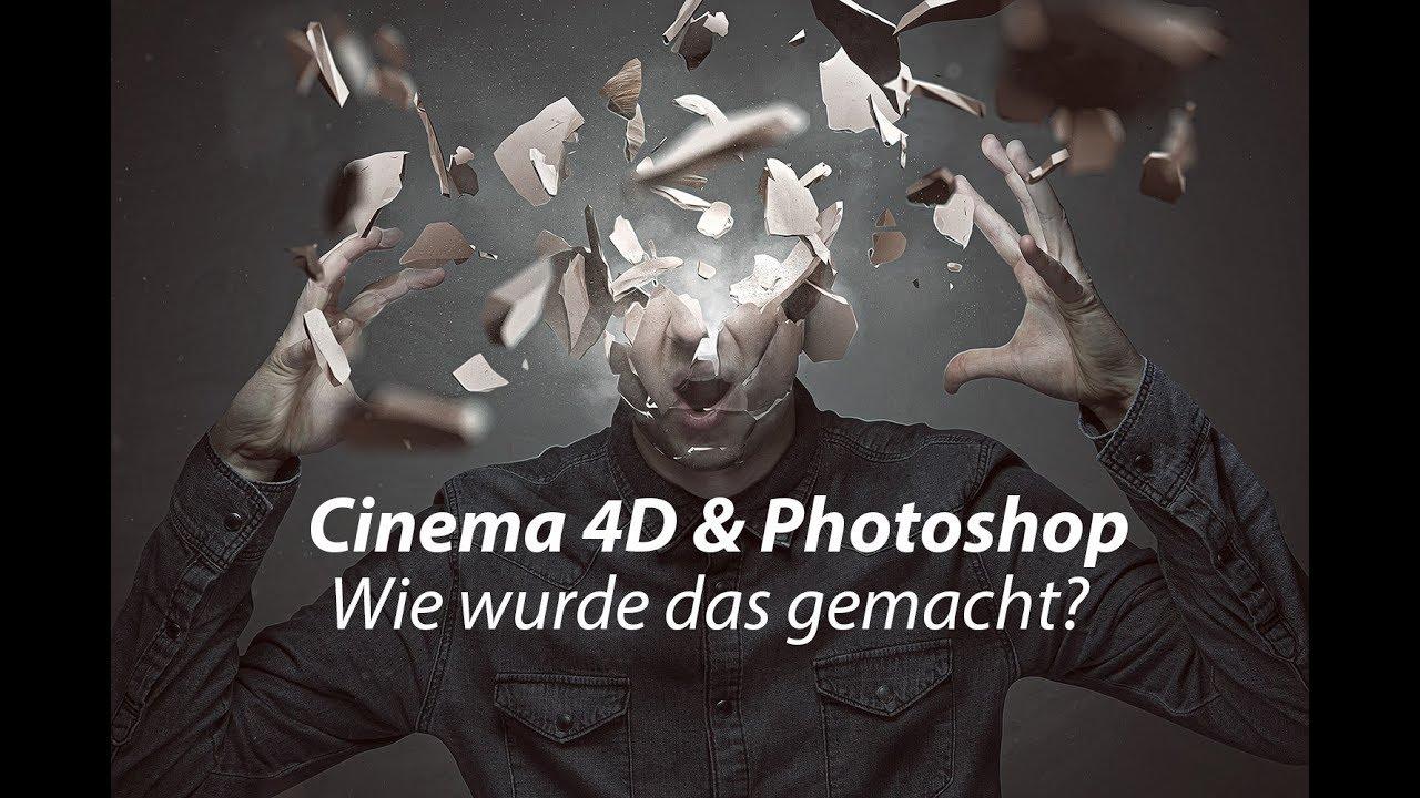 Cinema 4d bild im hintergrund
