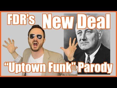 """New Deal (""""Uptown Funk"""" Parody) - @MrBettsClass"""