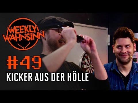 [49] Kicker der Hölle - Tischfußball mit Hindernissen | Weekly Wahnsinn | 11.01.2017