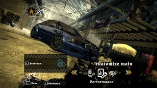 NFS Most Wanted - Upgradeable BMW M3 GTR E46 (Race)
