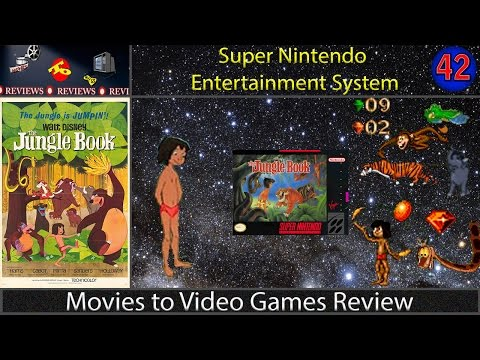 Movies to Video Games Review - Disney's The Jungle Book  (SNES)