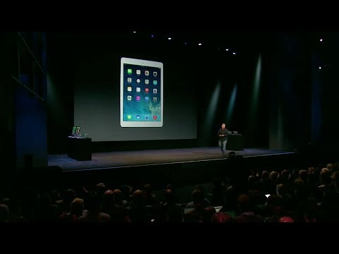 Apple Special Event 2013 - iPad Air Introduction