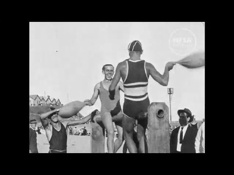 Newcastle surf carnival, 1920