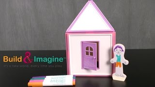 Draw & Build Dollhouse from Build & Imagine