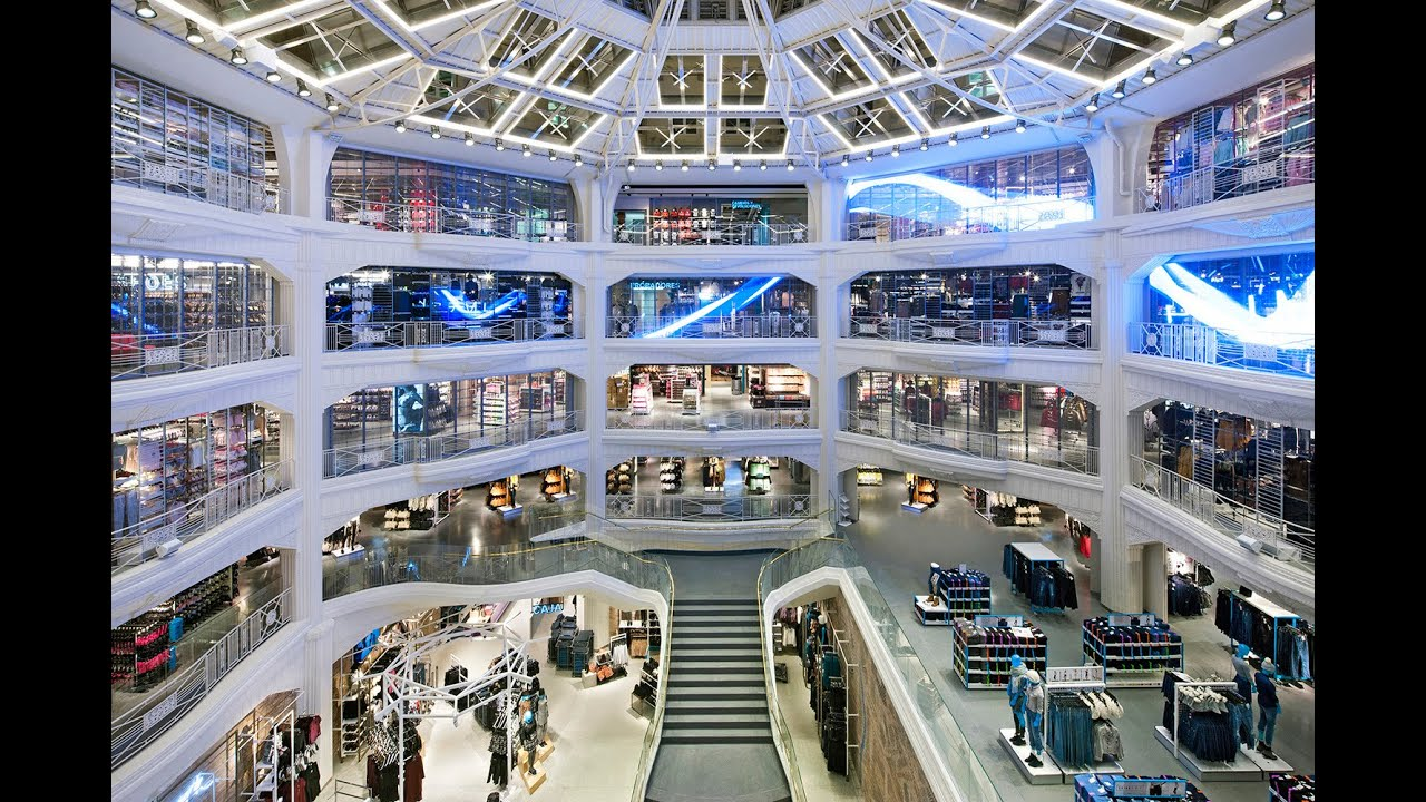 primark gran v a madrid the making of the atrium led