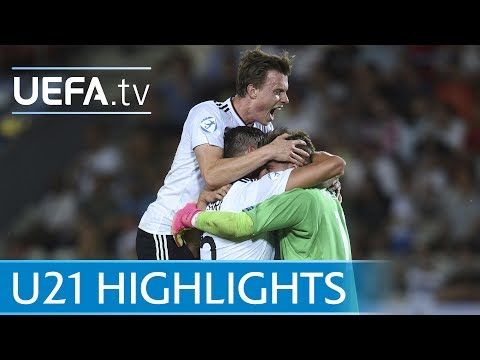 Under-21 2017 final highlights: Germany v Spain
