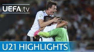 Under-21 2017 final highlights: Germany v Spain