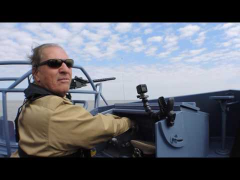 Watch the World War II Museum's PT-305 cruise Lake Pontchartrain: video
