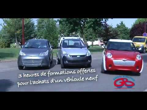 Garage bonhomme voiture sans permis aube youtube for Garage bonhomme voiture sans permis creney