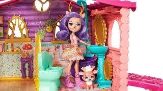 Новый домик Вики Энчантималс. Распаковка. Enchantimals house!