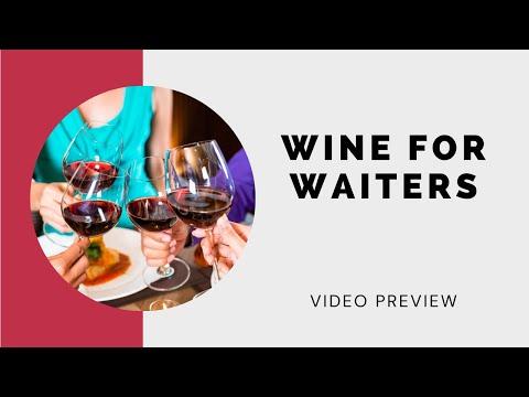 **Wine Training for Waiters**