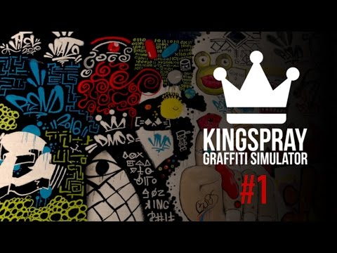 [ Kingspray Graffiti Simulator ] EP1: Multiplayer graffiti collaboration in virtual reality