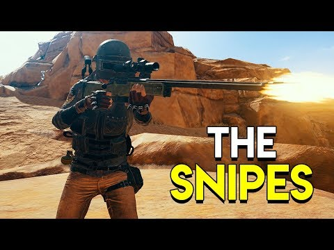 THE SNIPES! - PlayerUnknown's Battlegrounds (PUBG)