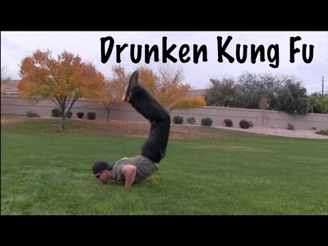 DRUNKEN STYLE KUNG FU - Lesson 5