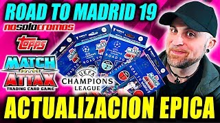 ACTUALIZACION EPICA!! #1 TOPPS MATCH ATTAX CHAMPIONS LEAGUE - ROAD TO ...