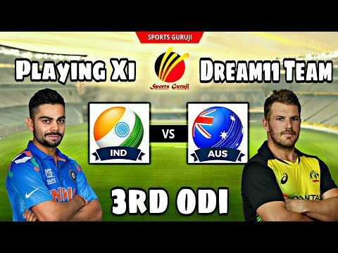 India Vs Australia, 3rd One Day International, Match Preview, Playing Xi And Dream11 Team