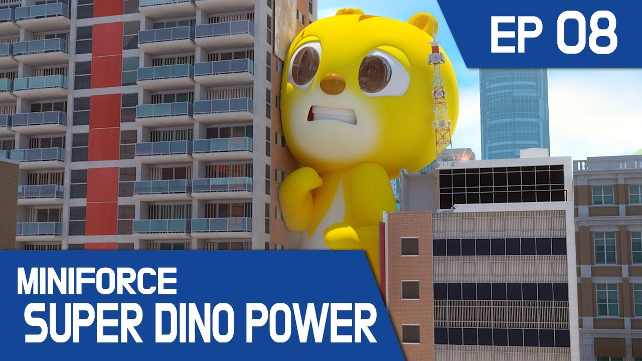[ MINIFORCE Super Dino Power] Ep.08: Watch Out for Giant Max!