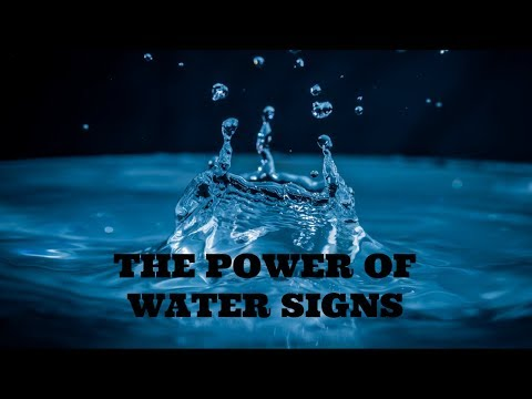 The Power of Water Signs