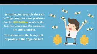 Yoga for a healthy lifestyle with plr - upsell review+demo