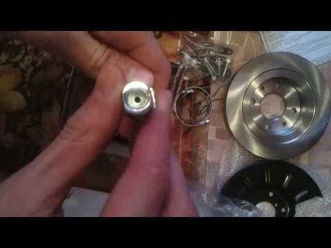 Cмотреть видео онлайн Задние дисковые тормоза для ВАЗ