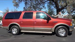 Ford Excursion - это огромный и очень востребованный SUV