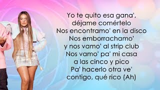 Ozuna, Karol G, Myke Towers - Caramelo Remix (Letra/Lyrics)