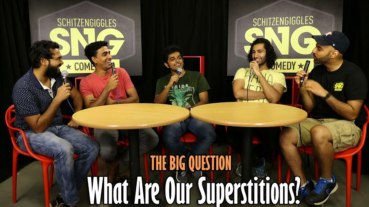 SnG: What Are Our Superstitions Ft Naveen Richard | The Big Question Episode 40 | Video Podcast