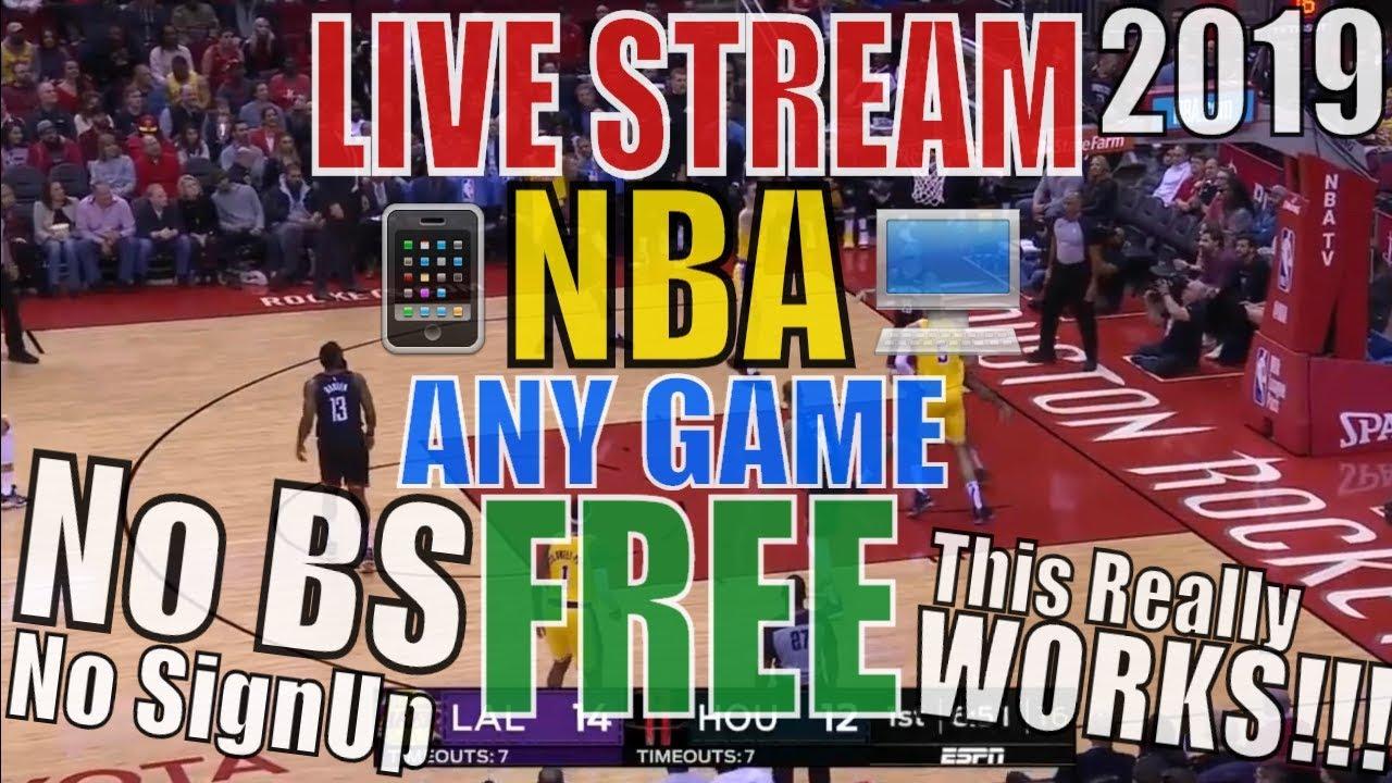 watch nba free all