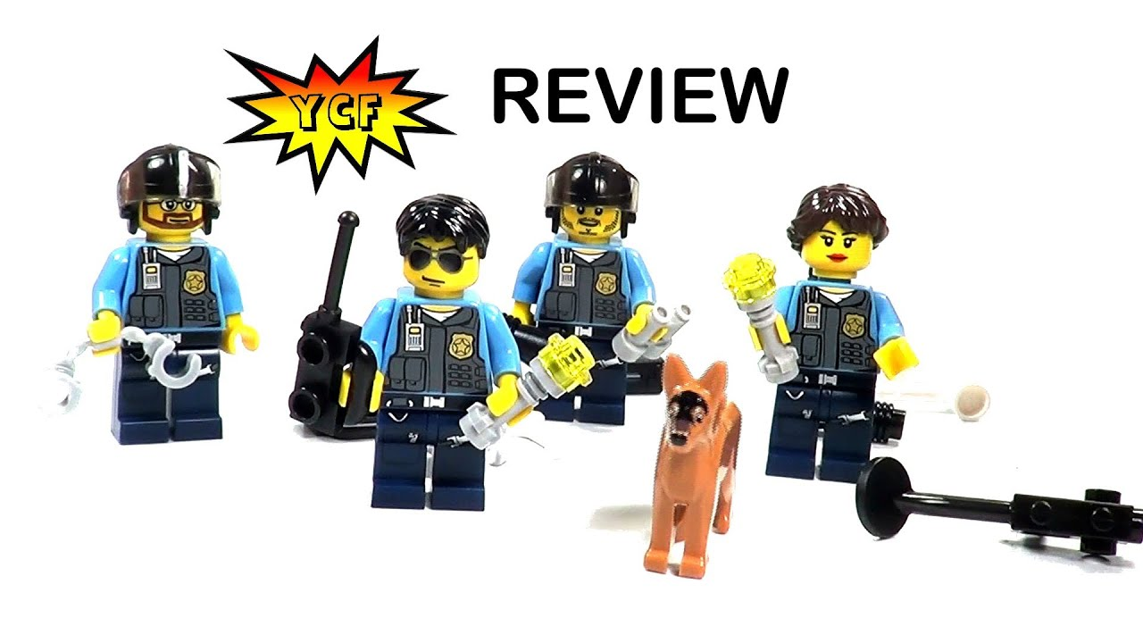 LEGO CITY Policemen Pack 850617 Review - 2013 Battle Pack ...