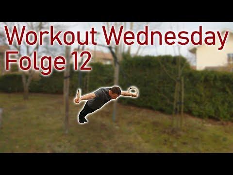 Workout Wednesday Folge 12 - Übungen für den Schweizer, Ringe und Reck