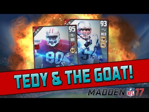 Tedy Bruschi & Jerry Rice! | Madden 17 Ultimate Team - Legend Bundle Opening
