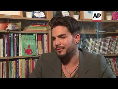 Adam Lambert: being gay is 'less taboo' now
