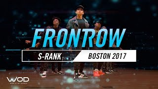 S-rank | Frontrow | World Of Dance Boston 2017 | #wodbos17