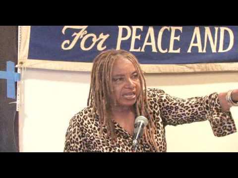 """Margaret Prescod from """"Sojourner Truth"""" on KPFK 90.7 FM"""