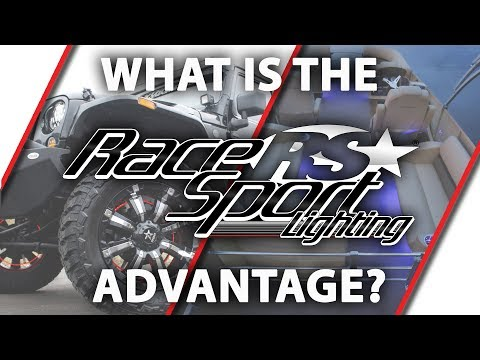 What Is The Race Sport Lighting Advantage?