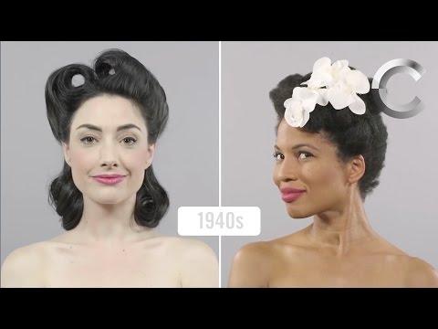 100 Years of Beauty  Pt  I & II Side by Side Comparison